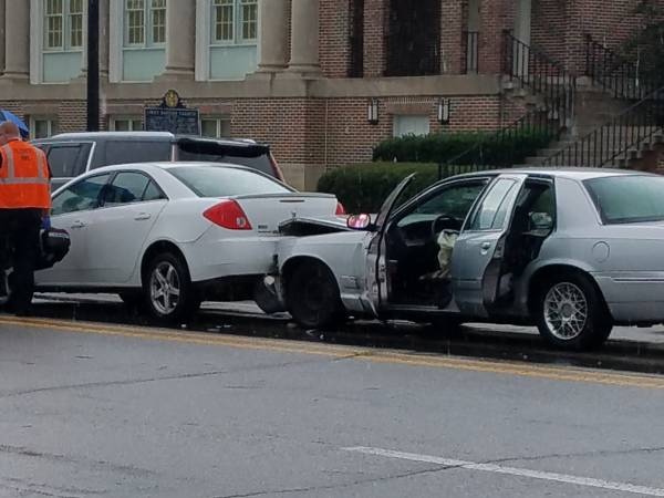 4:54 PM... Motor Vehicle Accident in the 300 Block of West Main