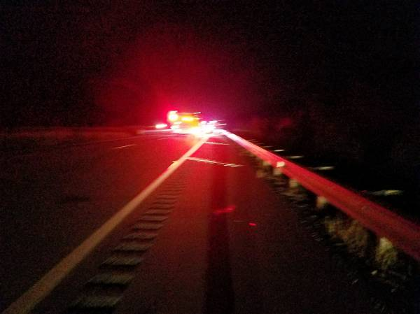 Updated at 7:00 PM... Motor Vehicle Accident on US 231 South at Big Creek Bridge