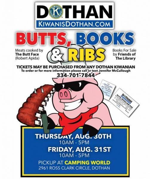Kiwanis of Dothan BBQ Sale - Get Them NOW