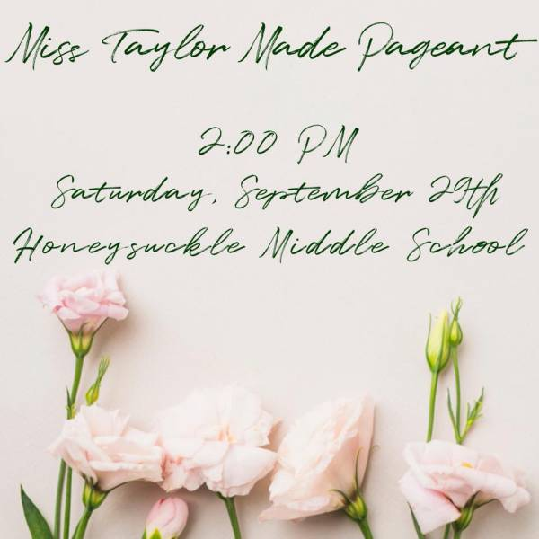 Get your Taylor Made Festival Pageant Applications Turned In