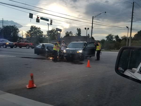 6:30 PM... Motor vehicle Accident at Honeysuckle and Hartford Hwy