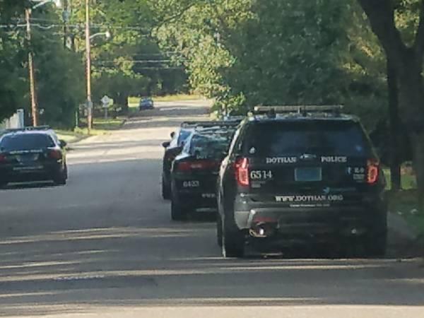 UPDATED at 5:09 PM… Burglary in Progress on Persimmon Street