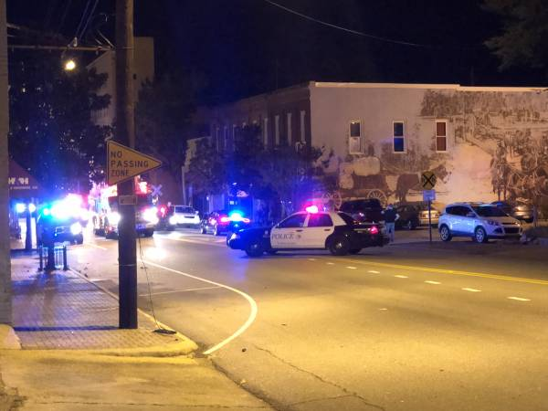 UPDATED @ 8:28 PM.   7:49 PM. Gunshot In Apartment Above Snob's