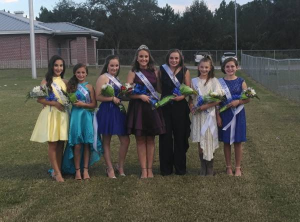 Rehobeth Middle School's 2018 Homecoming Attendants