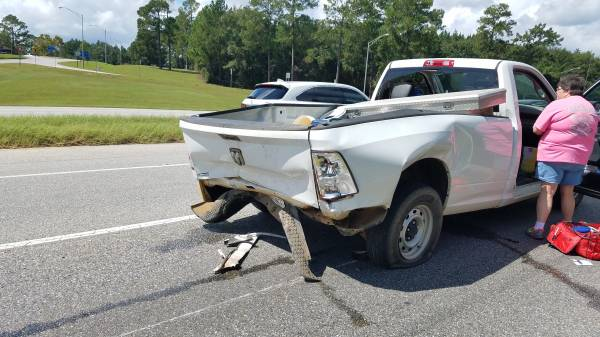 11:57AM.   Wreck With Injuries On Highway 231 North At Welcome Center