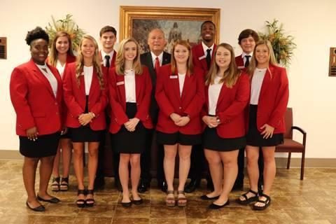 Rep. Paul Lee Visits Wallace Leadership Students