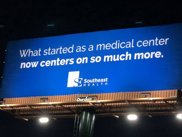 $ 1.2 MILLION DOLLAR Rebrand Of Southeast Alabama Medical Center Underway