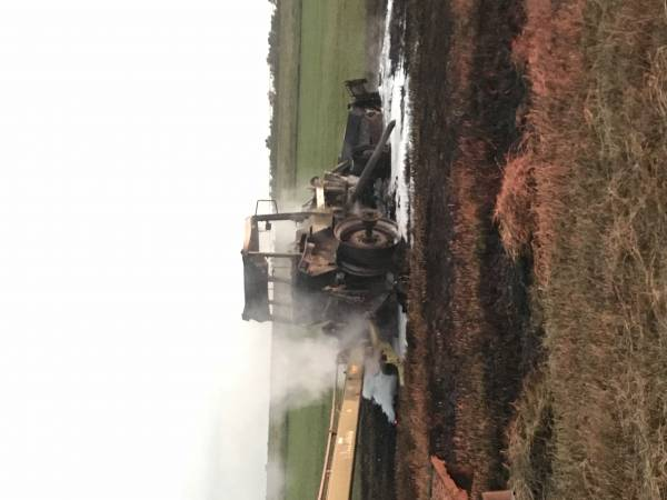 Slocomb Tractor Fire