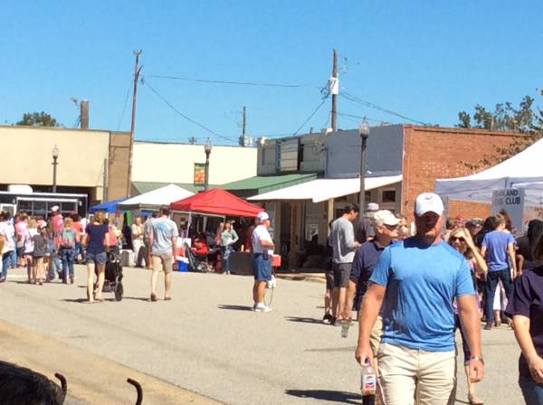 Updated with Photos: Today is Harvest Day in Headland on the Square!