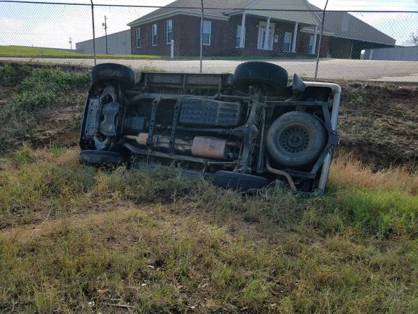 9:32 AM... Single Vehicle Rollover on Cowarts Road at Drew Road
