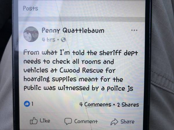 Folks In Cottonwood - Penny Quattlebaum Is A Liar