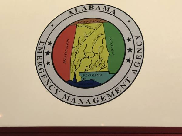 Mobile Command From Alabama Emergency Management Arrives At DOTHAN-Houston County Emergency Management Office..