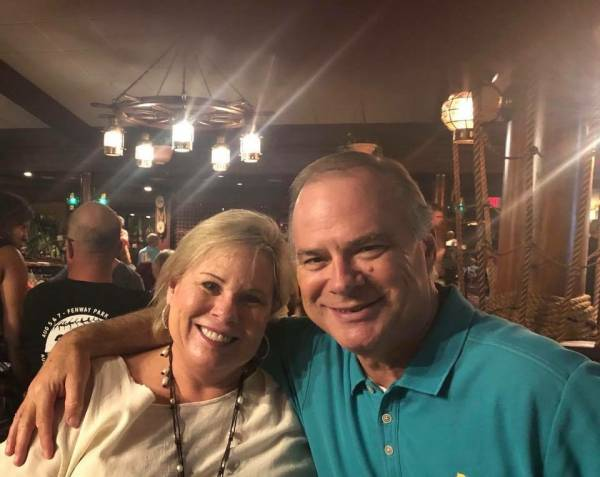 Senator Harri Anne Smith and Sheriff Donald Valenza At Walmart
