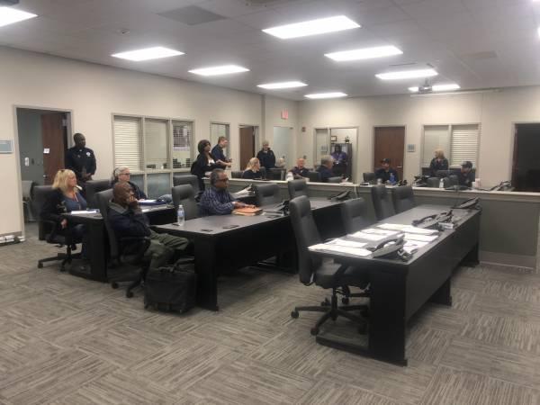 FEMA , Alabama EMA and Local EMA Brief Before Hitting Streets
