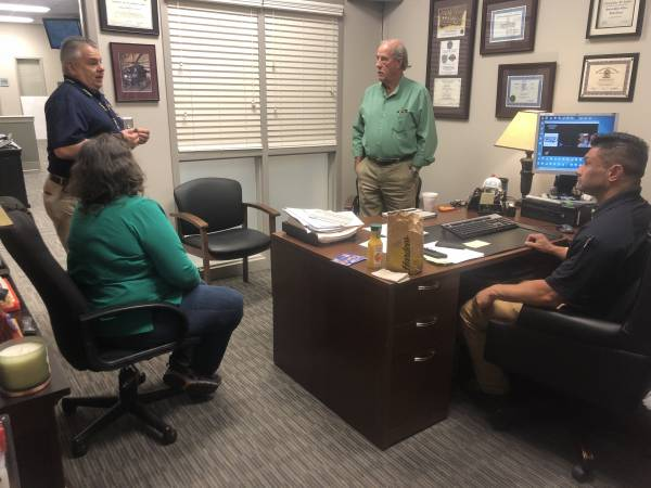 Houston County Commissioner Doug Sinquefield Meets With Alabama EMA, FEMA and Dothan-Houston County Emergency Management Director