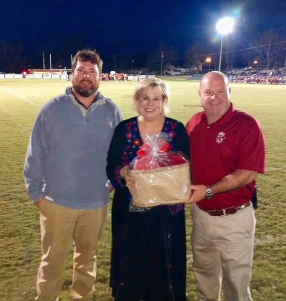 Slocomb Homecoming Game - Senator Harri Anne Smith
