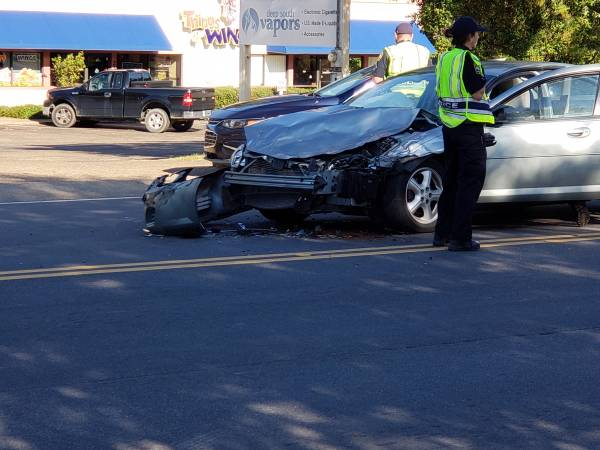 UPDATED at 9:17 AM.   Motor Vehicle Accident in the 2300 Block of South Oates