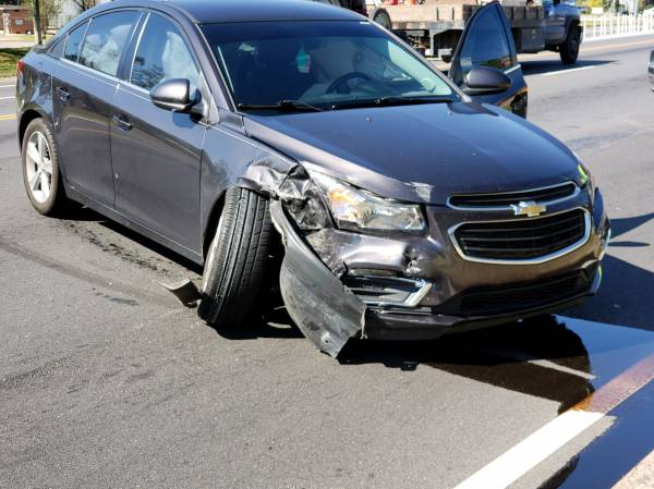 12:34 PM.... Motor Vehicle Accident at Reeves and Montgomery Hwy