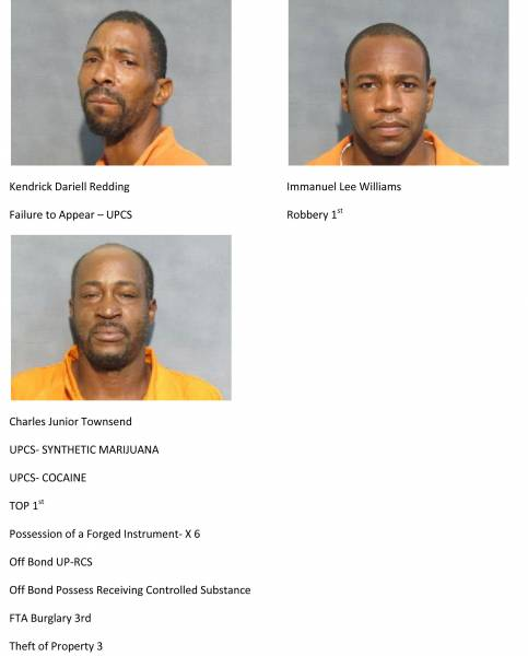 Mugshots of the Day 11/2/18 – 11/4/18
