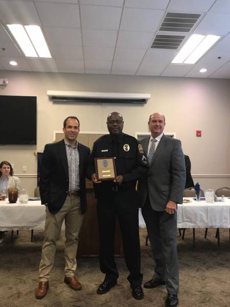 Exchange Club Police Officer of the Year