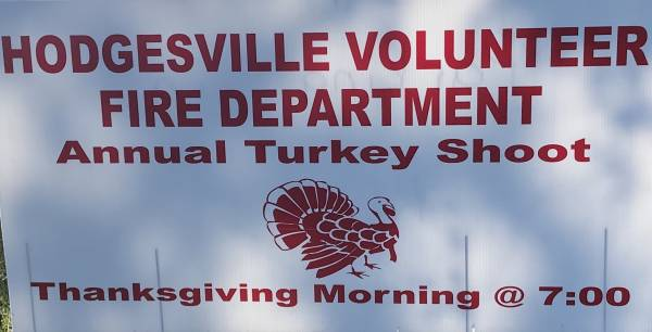 Annual Turkey Shoot at the Hodgesville Fire Department