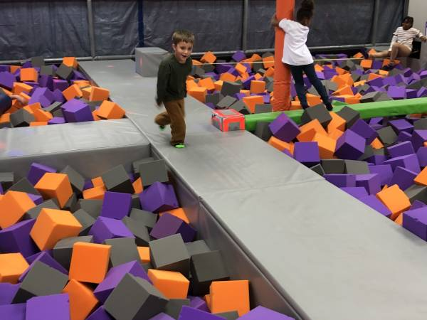 Brantley At Alabama's Largest Action Air Jump and Sports