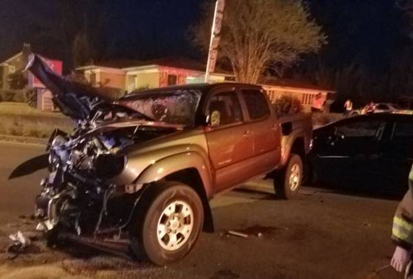 Motor Vehicle Accident in Marianna