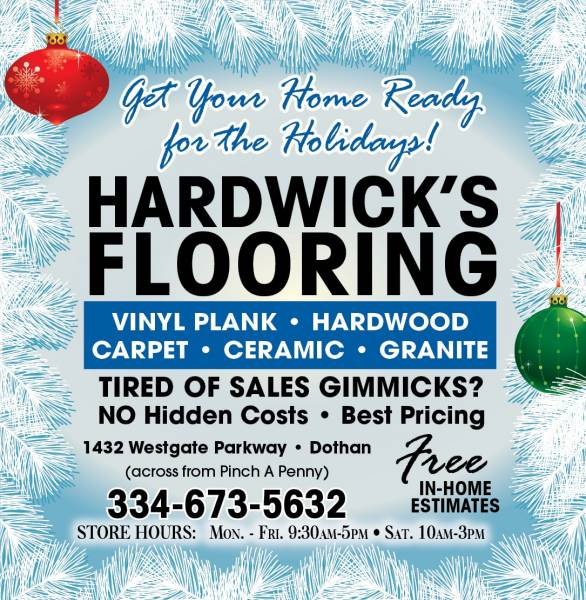Happy Thanksgiving From Hardwick's Flooring