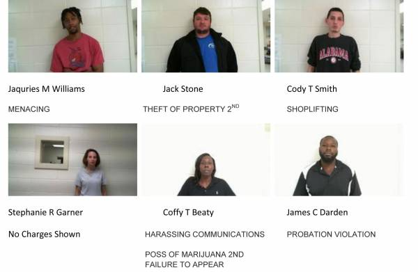 Dale County Sheriff's Office Mugshots for 11-22-2018