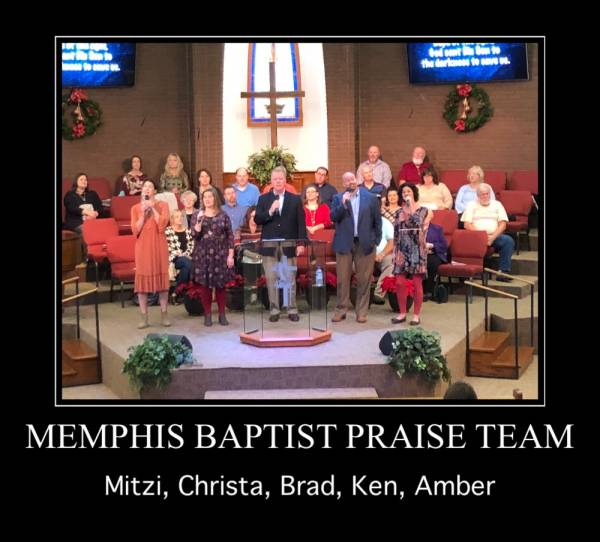 Rev. Clay Greathouse Delivers This Morning's Message At Memphis Baptist Church