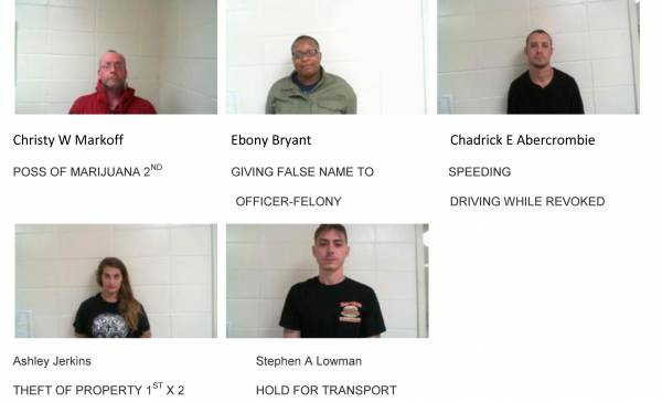 Dale County Sheriff's Office Mugshots for 12/5/2018