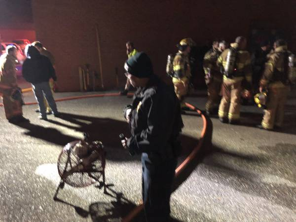 A 4:13 AM Structure Fire At Cottonwood High School. School Closed FOr Thursday