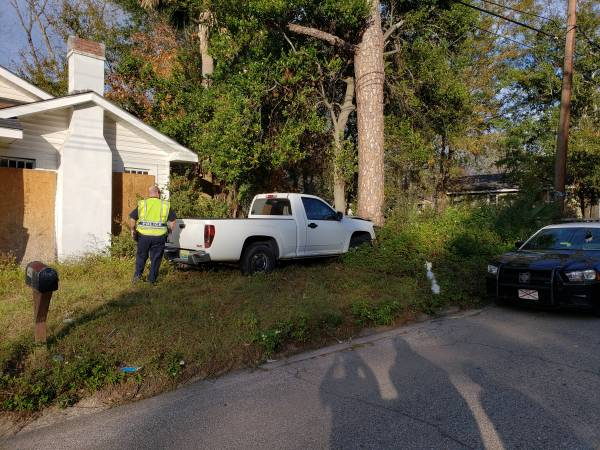 2:51 PM... Pickup vs Tree on East Newton