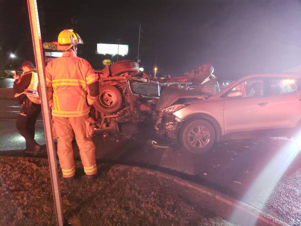 UPDATED @ 8:00 PM. 7:42 PM.  Critical Injury Wreck 3100 Block Of Ross Clark