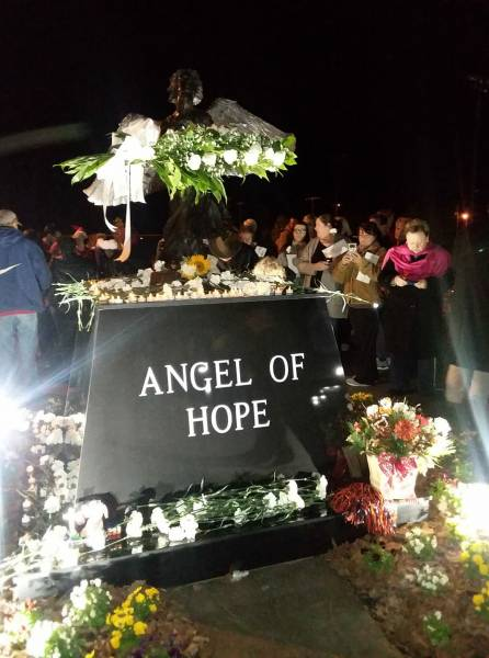 Wonderful Turnout At The Angel Of Hope Annual Vigil