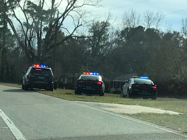 Dothan Police Respond to an Domestic Call on South Beverlye