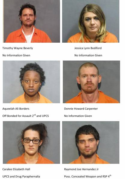Mugshots of the Day 12/12/18