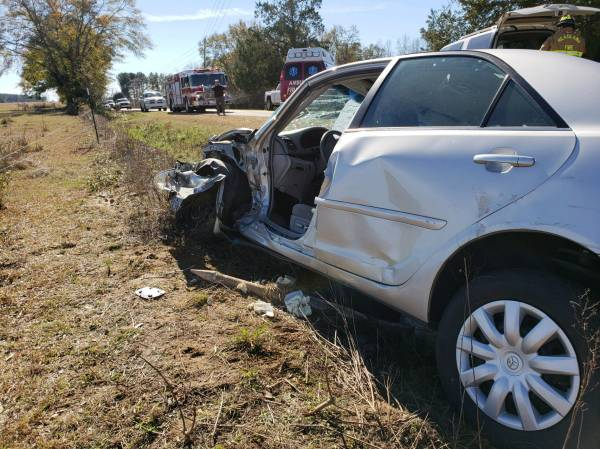 UPDATED at 12:26 PM.   Motor Vehicle Accident Henry County - One Confirmed Fatality