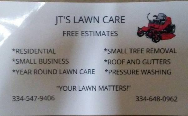 Lawn Care Services Needed?