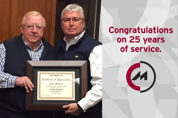 Allen McLean's 25th Anniversary With Carlisle