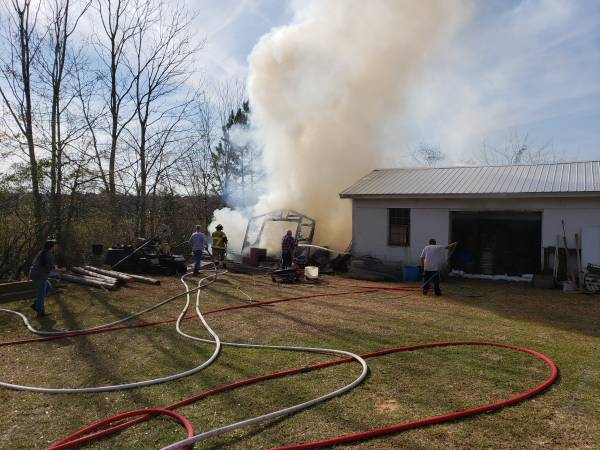 1:02 PM    Structure Fire 8000 Block Of Highway 109