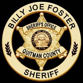Quitman County Georgia Sheriff and The Quest To Confirm - Someone Chewed Me This Morning