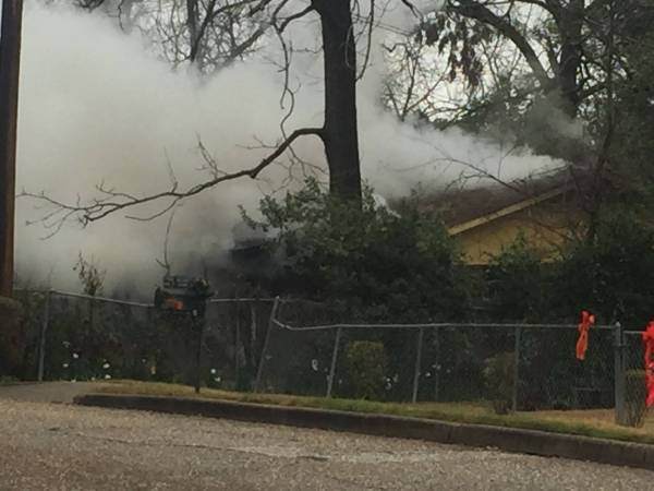 9:20 AM... Structure Fire at 604 East Adams