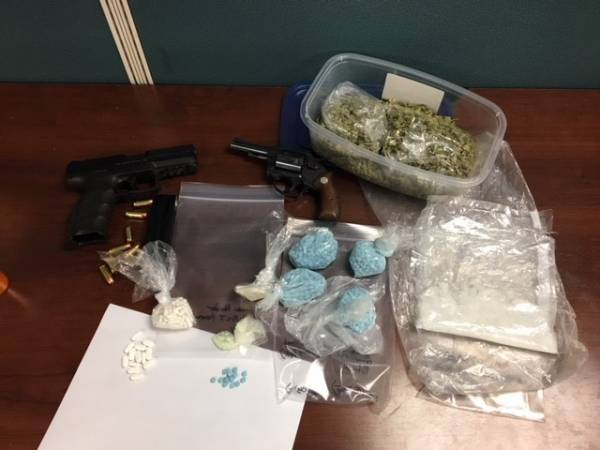 Search Warrant Locates Multiple Narcotics, Firearms, and Two Unattended Children