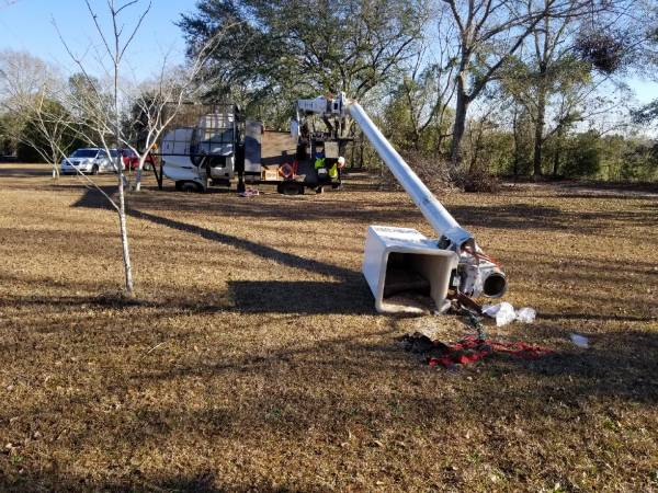 Man Fell from Bucket Truck