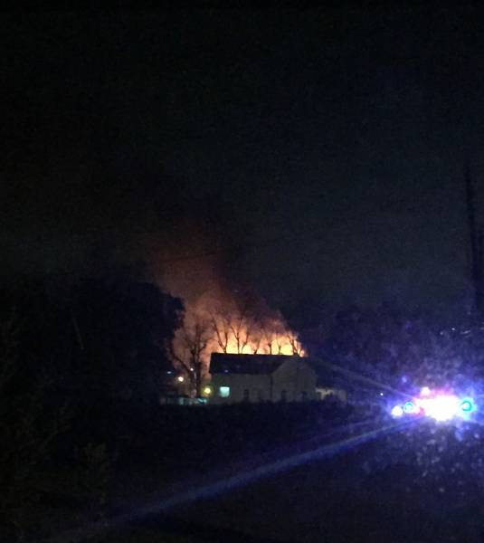 UPDATED @ 8:55 PM w Pics 7:45 PM Headland Structure Fire