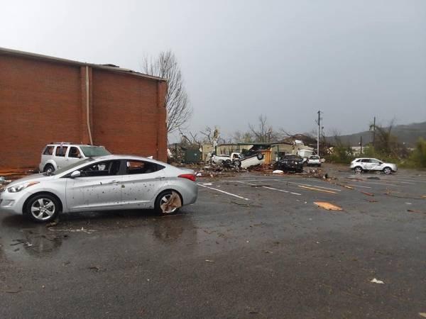 Tornado strikes Wetumpka