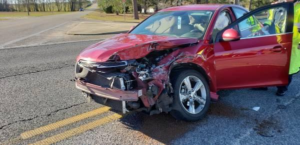 8:25 AM...Motor Vehicle Accident at Hartford and Shady