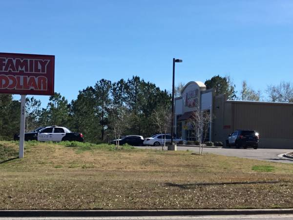 Strong Arm Robbery At Family Dollar