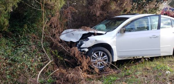 7:46AM... Motor Vehicle Accident on Rowland Road at Radford Circle